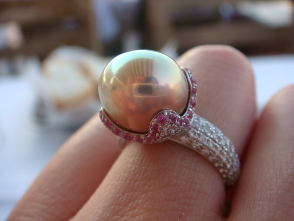 Pearl Ring For My Fiance